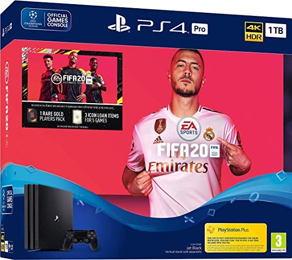SORTEIO Ganhe Um PlayStation 4 Pro com FIFA 20!