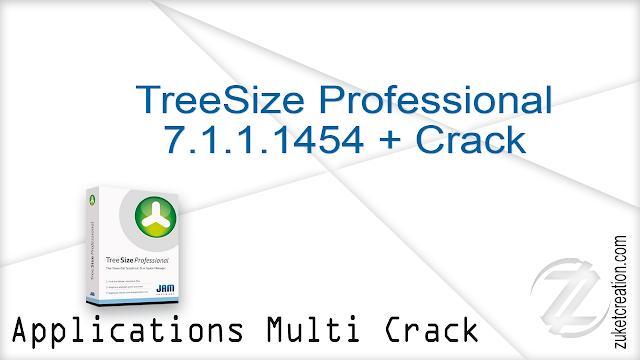 TreeSize Professional 7.1.1.1454 + Crack  |  64 MB