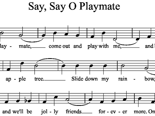 Say, Say O Playmate