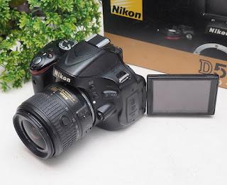 Jual Kamera DSLR Nikon D5100 Second