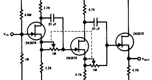 circuit audio amplifer with ic tba810