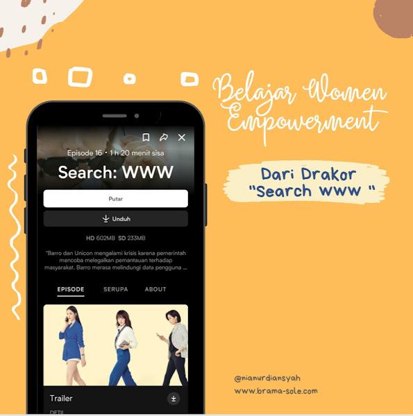 """Belajar Women Empowerment Dari Drakor """"Search : www"""""""