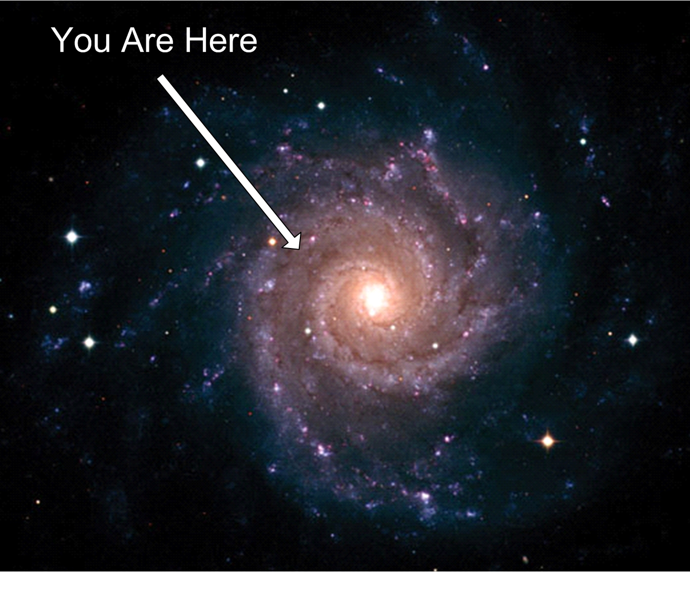 you are here milky way galaxy - photo #12