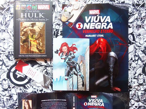 Clube Leitura Marvel #07, assinatura exclusiva dos livros Marvel!