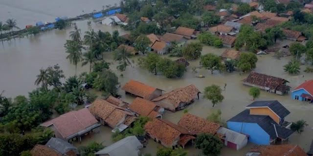Tinjau Banjir Karawang, BNPB Temukan Beberapa Kerusakan Sungai dan Tanggul