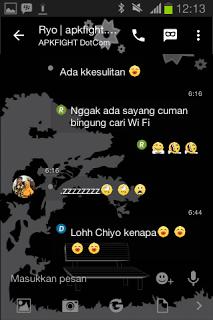 BBM Mod Alone Black v2.13.1.14 Apk Terbaru