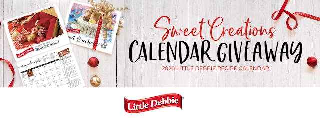Little Debbie Snacks wants you to enter to be one of a hundred winners of a 2020 Little Debbie Recipe Sweet Creations Calendar in their Holiday Giveaway!