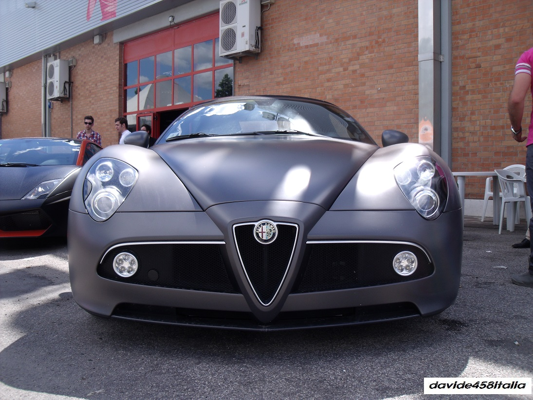 Davide458italia: Alfa Romeo 8C Spider Spotted (photos