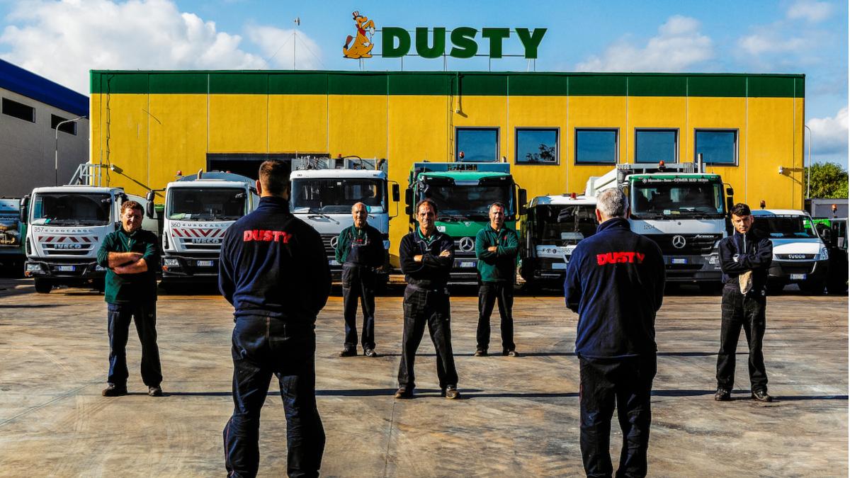 Dusty chiusura Pasqua, kit Civita