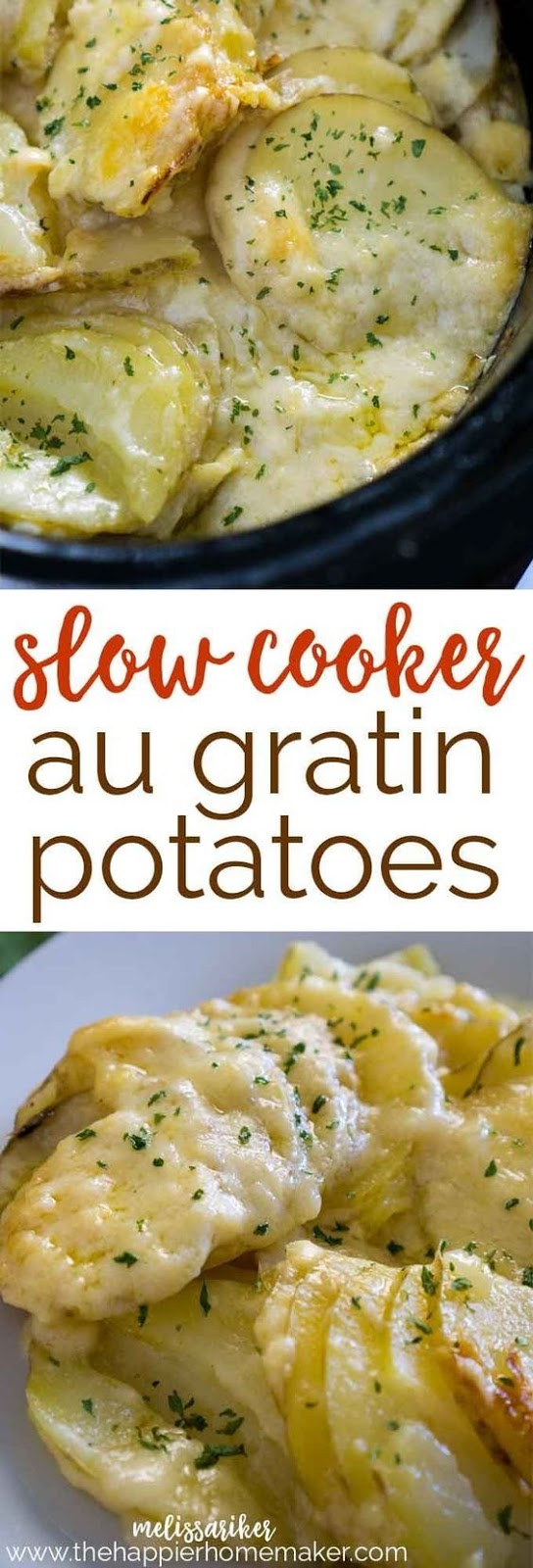 SLOW COOKER AU GRATIN POTATOES RECIPES