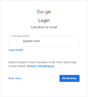 login akun gmail