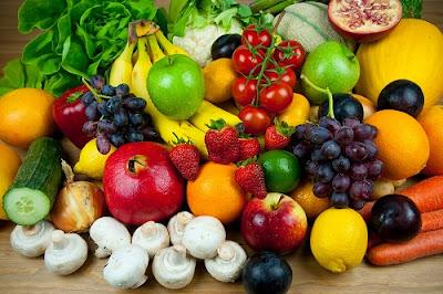kecantikan dengan buah