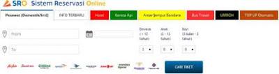 Sistem Pencarian Tiket MMBC