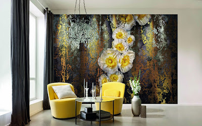 Stylish 3d wallpaper for walls 2019