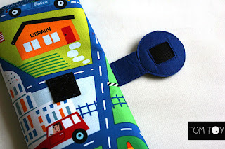 Cable cars playmat handmade by TomToy