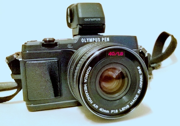 Olympus E-P5, Konica Hexanon AR 40mm f/1.8