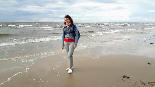 Jurmalan hiekkaranta Latvia