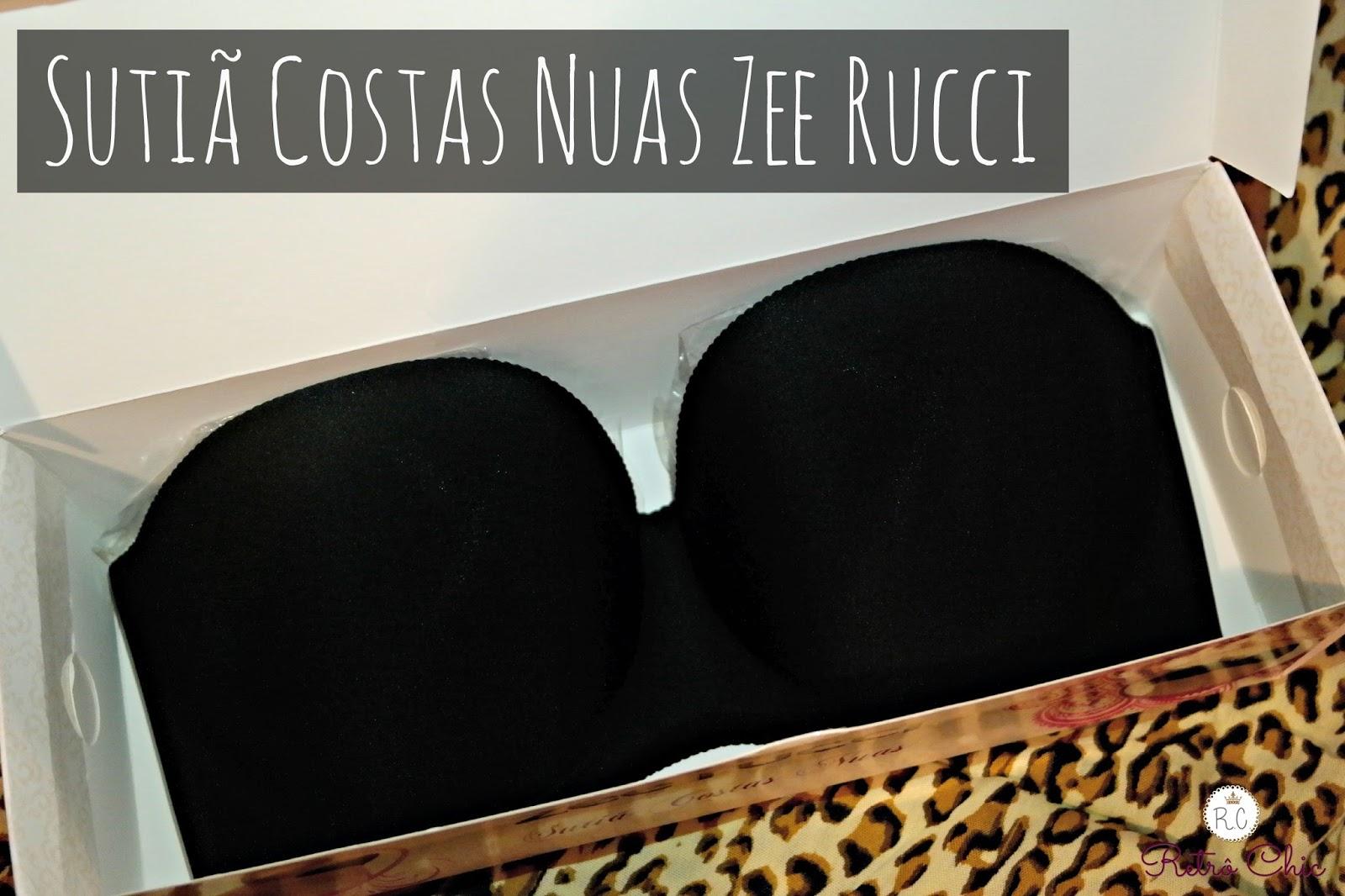 8396d6b3a Sutiã Costas Nuas Zee Rucci para Valentina Moda Íntima – Retrô Chic