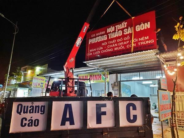 Làm bảng hiệu Alu Nội Thất Phương Thảo Sài Gòn- Phú Quốc