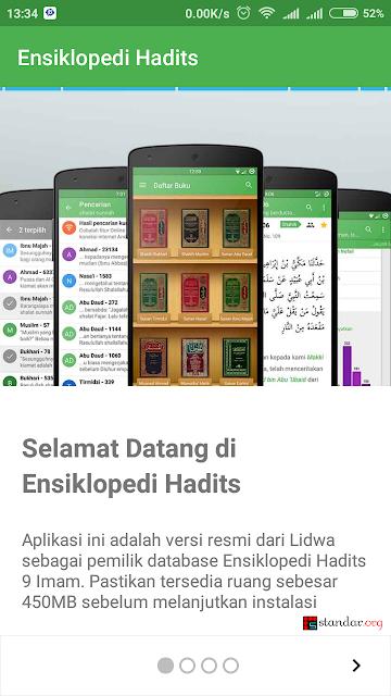 Ensiklopedi Hadits Kitab 9 Imam, Aplikasi Muslim Terbaik Untuk Mengenal Hadist-02