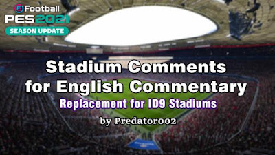 Stadium Comments for English Commentary V1