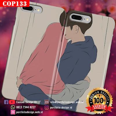 Model casing handphone couple pasangan muslim terbaru COP133