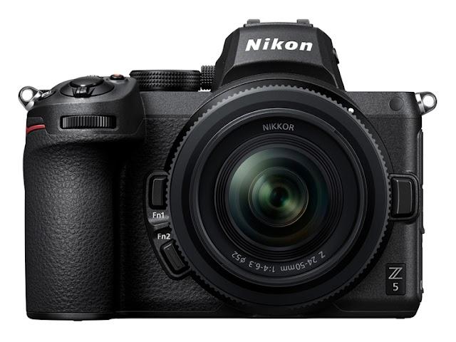 24 megapiksel sensörlü full frame fotoğraf makinesi Nikon Z 5'in fiyatı 1399 $