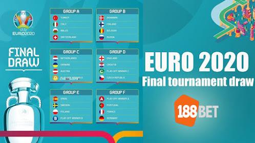 EURO 2020 di 188BET