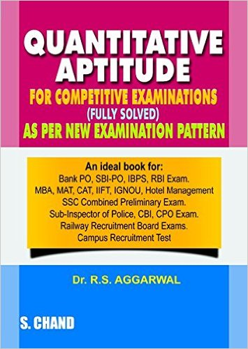 Best quantitative and reasoning aptitude books for competitive exams latest edition quantitative aptitude by rs aggarwal pdf ebook it covers all the topics for the competitive exams and also it useful for placements fandeluxe Image collections