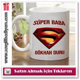 Kişiye Özel Süper Baba Kahve Kupası
