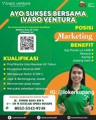Lowongan Kerja Ivaro Venture Sebagai Marketing
