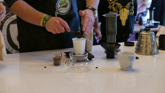 True Artisan Cafe - Aeropress