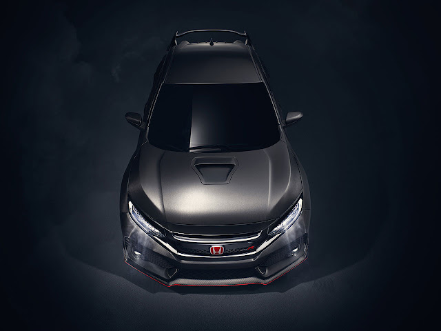 New Honda Civic Type R Prototype