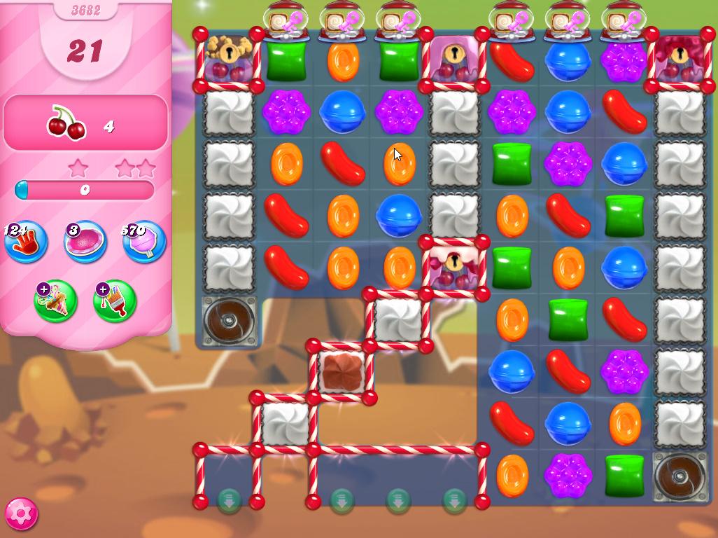 Candy Crush Saga level 3682