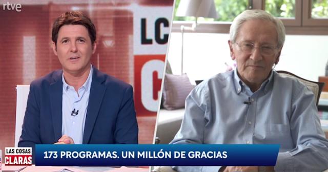 Jesús Cintora y Fernando Ónega