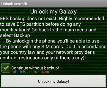 Galaxy Toolbox : unlock samsung for free