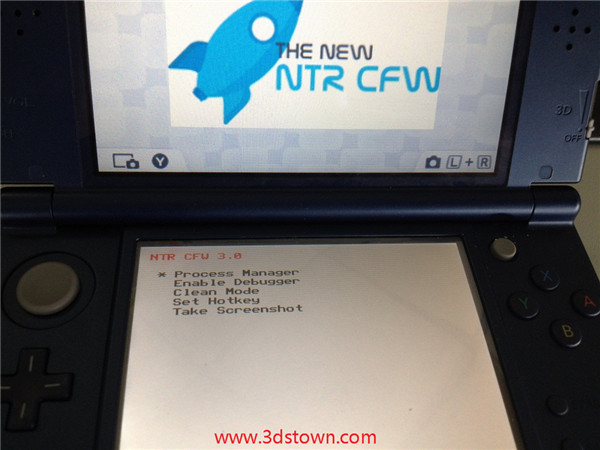 3DSTOWN COM: NTR CFW 3 0 released! Sky3ds can successfully