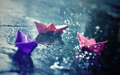Gambar Hujan Perahu Kertas Sedih Rintik Hujan Rinai Hati Galau