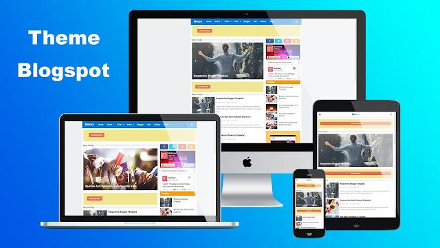 Download Mocca Template Blogger Premium - Responsive & Free