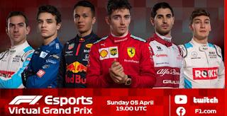 Resultado Carrera Virtual de F1 Australia 5 abril 2020