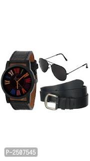 Watch,Belt, Sunglasses