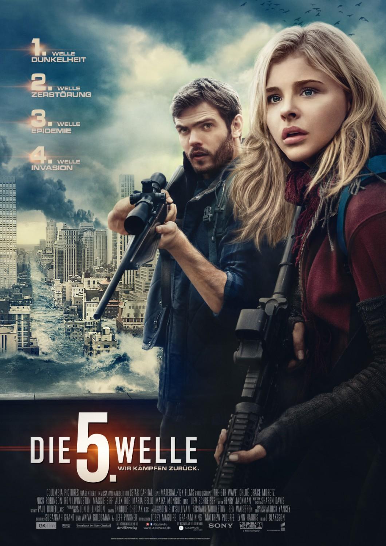 A 5ª Onda | Sci-fi com Chloë Grace Moretz ganha poster alemão