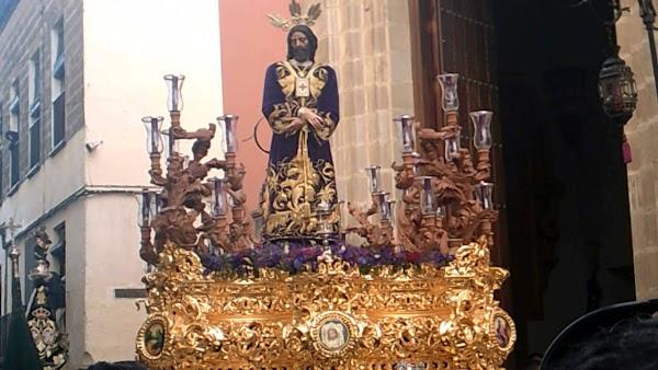 Horario e Itinerario Vía-Crucis de Nuestro Padre Jesús Cautivo. Jueves 05 de Marzo Jerez de la Frontera