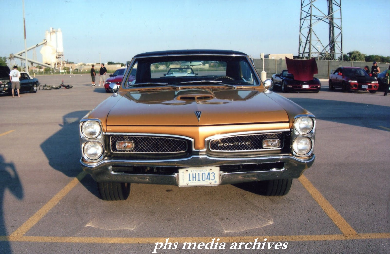 Changed grille shaved letters gto hood revived the look of the car up front