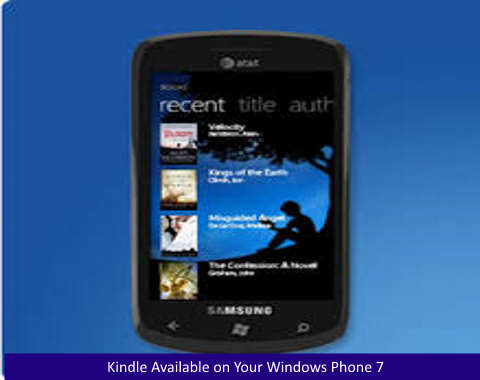 Kindle Available on Your Windows Phone 7