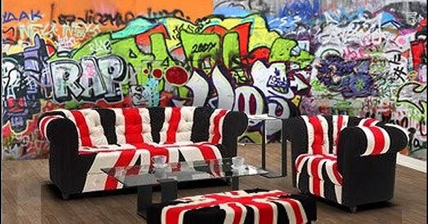 Decorating Theme Bedrooms Maries Manor Graffiti Wall