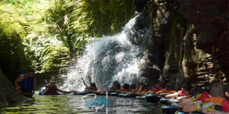 Curug Kembar Santirah River Tubing Pangandaran