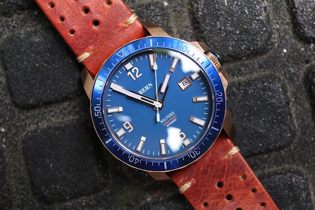 Bern Milford blue