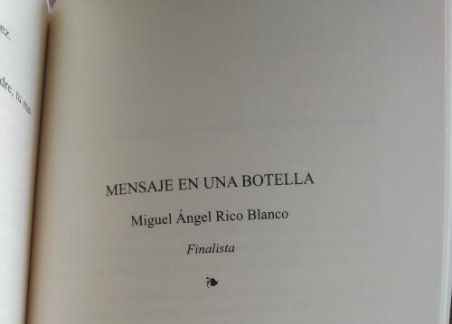 XXXII Certamen Joaquín Lobato Finalista