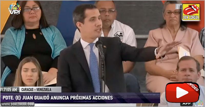 Guaidó convoca Ultra-Mega-Marcha hacia la AN para el próximo 10 de marzo